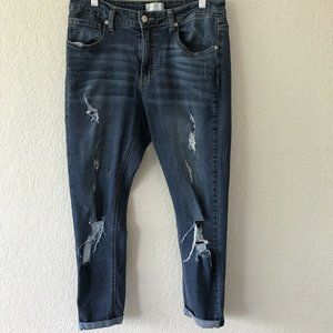 Altar'd State Distressed Skinny Jeans Size 27